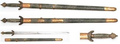 China Jian Ceremonial Sword cca.1900
