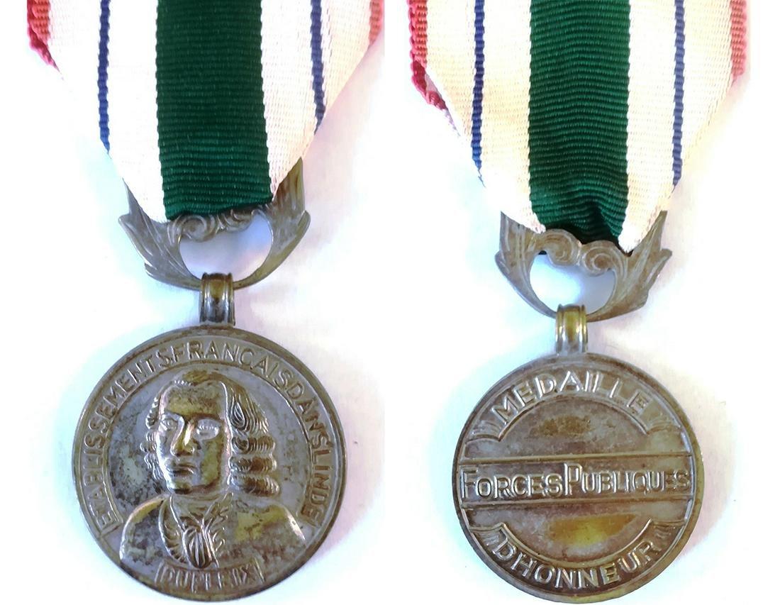 Honor Medal of Indian Public Forces, Etat Francais (so