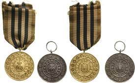 Medal of The Royal House instituted in 1935 Set 1st