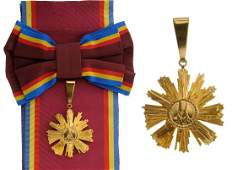 RSR  ORDER OF TUDOR VLADIMIRESCU instituted in