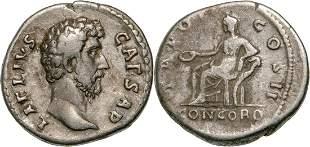 Aelius (136-138 AD), AR Denarius (3.1 g) struck 137 AD,