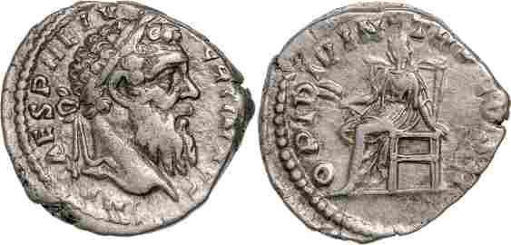 Pertinax (192 - 193), AR Denar (2.6g), Rome