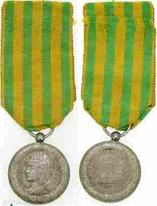 China - Tonkin - Annam Campaign Medal, instituted in