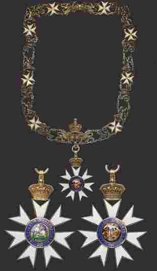 THE MOST DISTINGUISHED ORDER OF SAINT MICHAEL AND SAINT