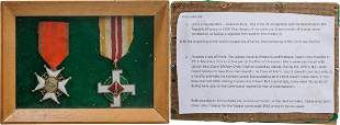 Personnal Group of 2. Cross of Recognition, instituted