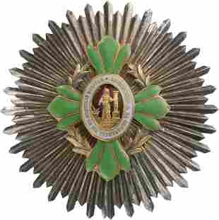 Military Long Service Breast star Constancia for Thirty