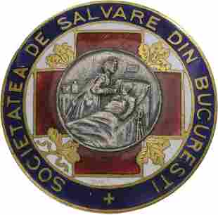 Bucharest Salvation Society Badge
