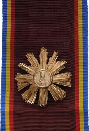 """RSR - ORDER OF """"TUDOR VLADIMIRESCU"""", instituted in"""