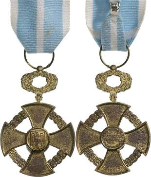 CROSS OF THE FAITHFULL SERVICE, 1935