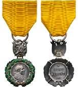 Silver Bene Merenti Medal for Military Merit