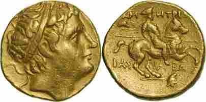 Kingdom of Macedonia, Demetrios I (306-283 BC), AV