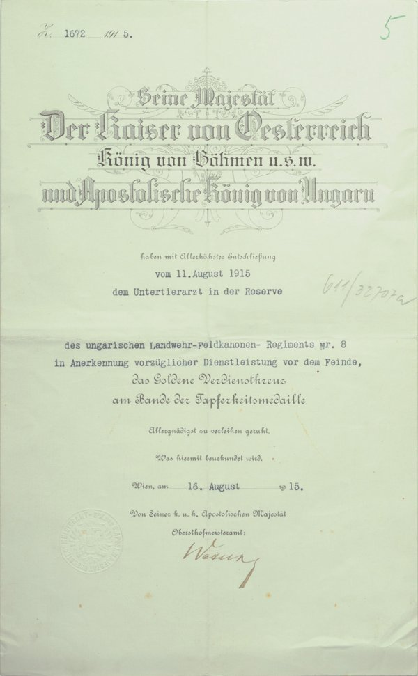 16: Awarding document