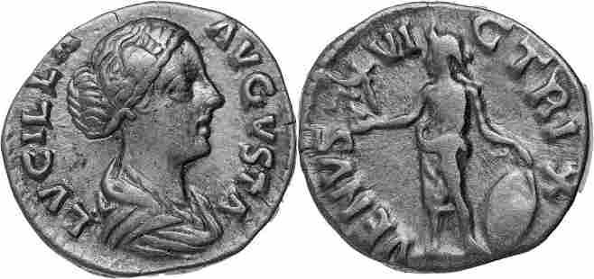 Lucilla (163-181 AD), AR Denarius (2.62g), Rome