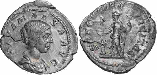 Julia Maesa (218-224 AD), AR Denarius (2,6g), Rome