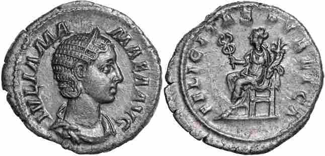Julia Mamaea (222-235 AD), AR Denarius (3.22g), Rome