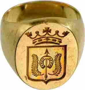 Beautiful Signet Ring