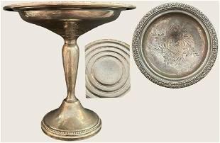 Decorative silver cup