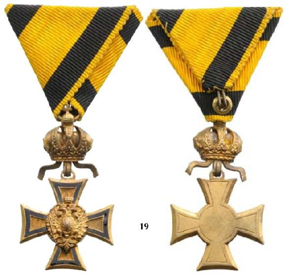 19: Medal for 50 years of service