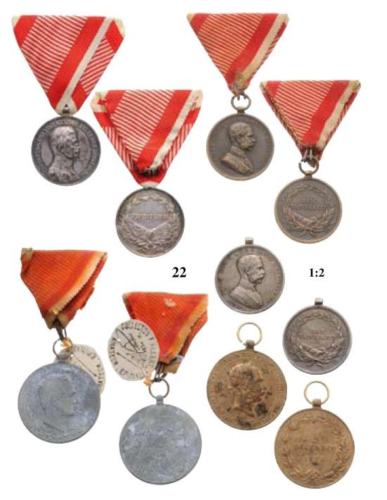 22: Lot of 5 Medals