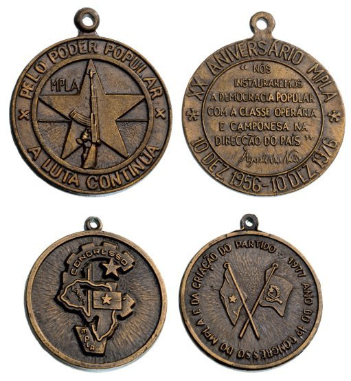 Medal for the 1st Congress of the MPLA