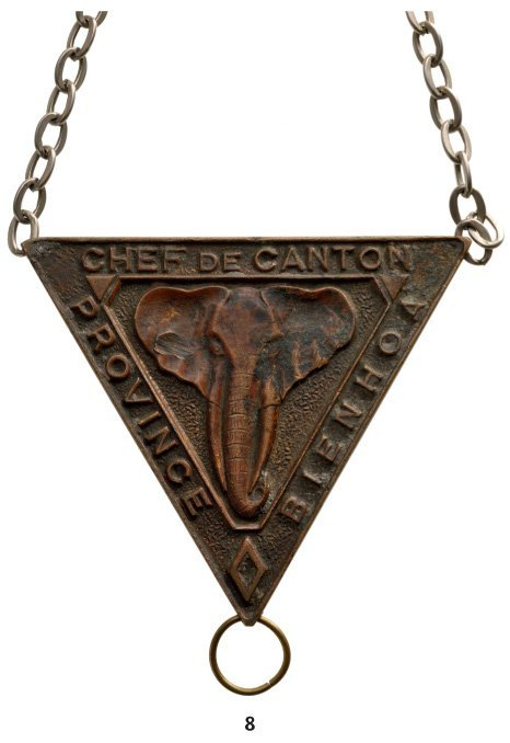 Badge for a Village Chief from the Bienhoa District (So