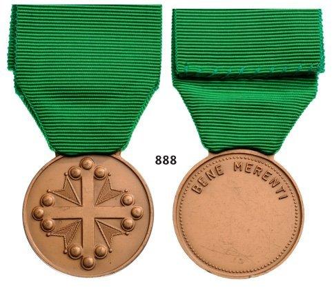 Bronze Bene Merenti Medal.