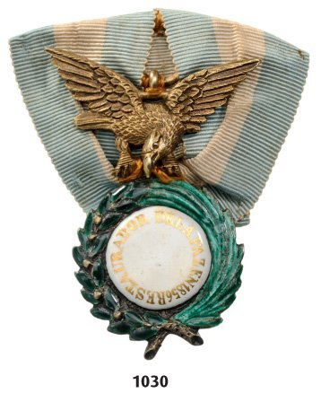Medal for the Restoration of Peace, instituted in 1856