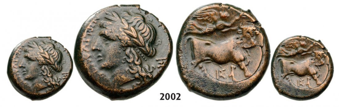 Æ (270-240 BC) Bronze (6.50g) Obv