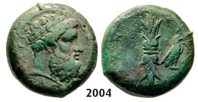 Hemilitron (Struck 344-336 BC) Bronze (13.01g)