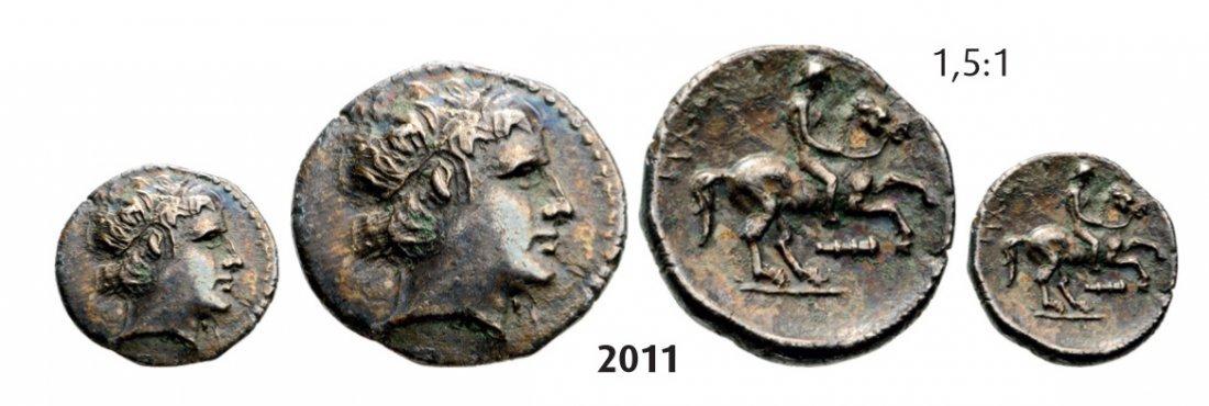 Fifth-Stater, Pella, Silver (2.28g) Obv