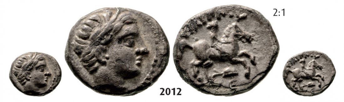 Fifth-Stater, Amphipolis (Struck 323-315 BC) Silver (2.