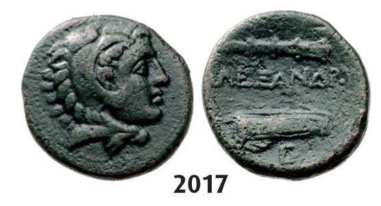 Æ (19mm) Uncertain mint, Bronze (5.69g) Obv.