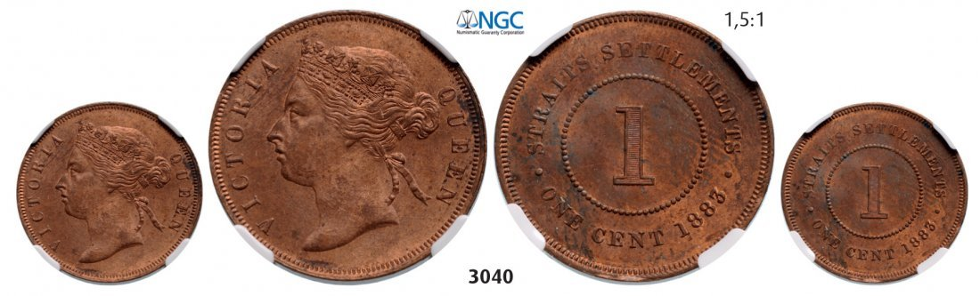 Cent 1883, Bronze