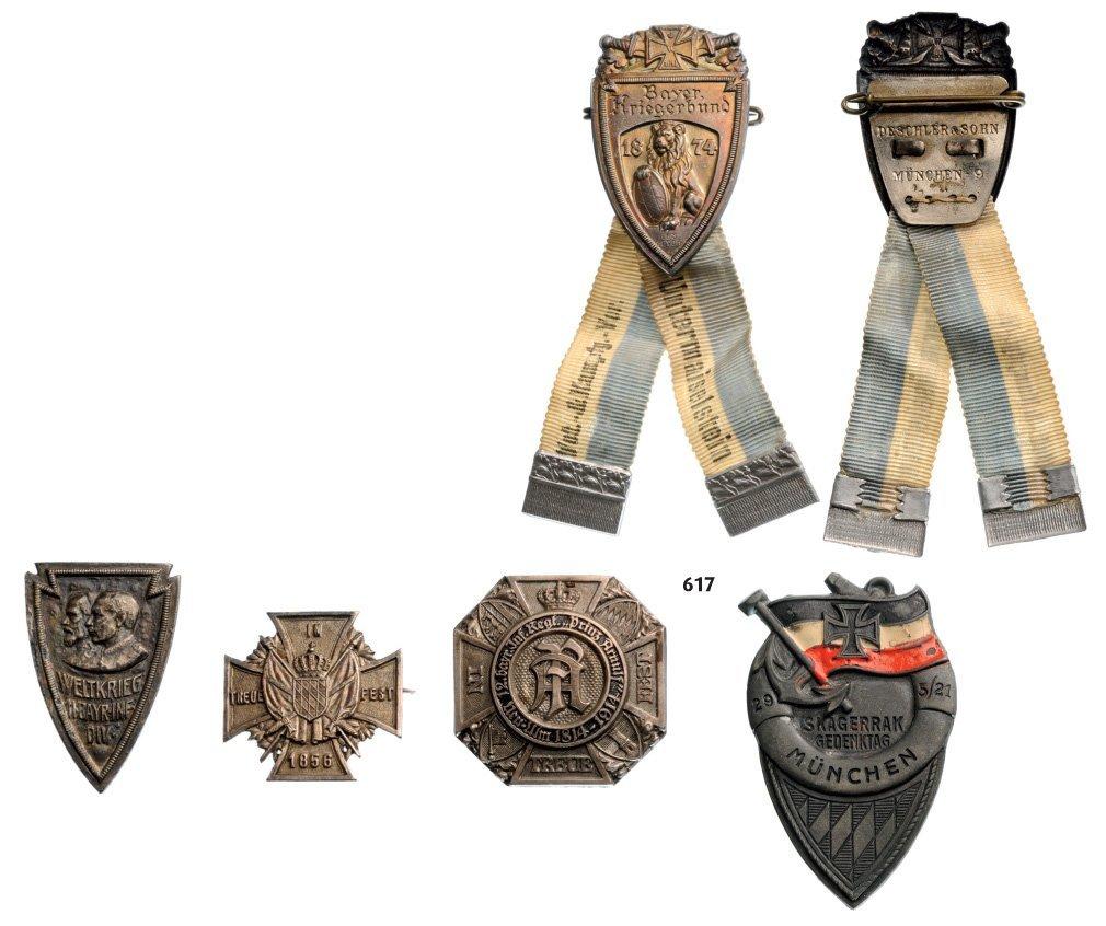 Veterans Badges: Bayer. Kriegerbund, Weltkrieg 11 Bayr.