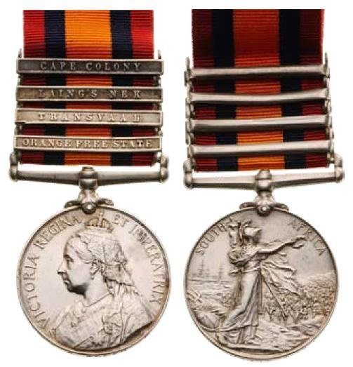 Queen's South Africa Medal, Queen Victoria, instituted