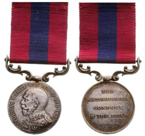 Distinguished Conduct Medal, George V, French Type