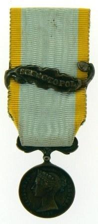 CRIMEEA MEDAL 1854-1855