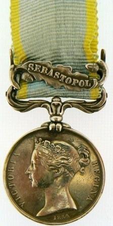 CRIMEEA MEDAL, 1854 -1855