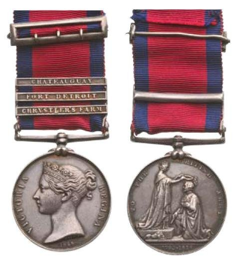 MILITARY GENERAL SERVICE MEDAL, INSTITUTED IN 1847