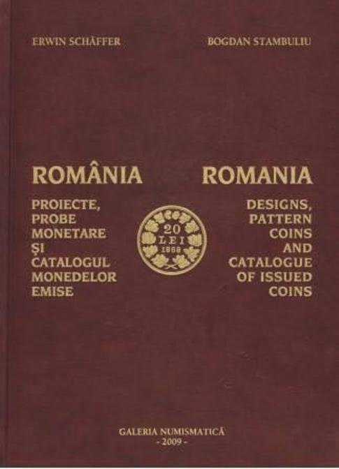 Romania-Designs, Pattern Coins and Catalogue of Issued