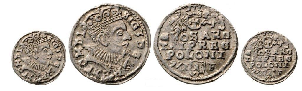 3 Groschen (Trojak) 1597-I/ F