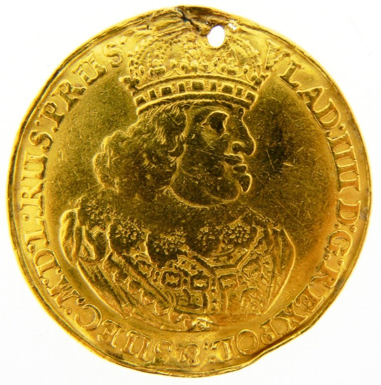 3 Ducat , Wladislaw IV (1632-1648)