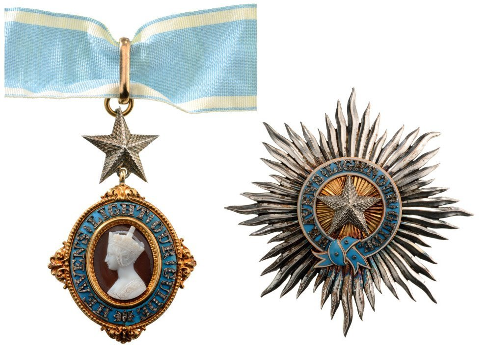 MOST EXALTED ORDER OF THE STAR OF INDIA KNIGHT