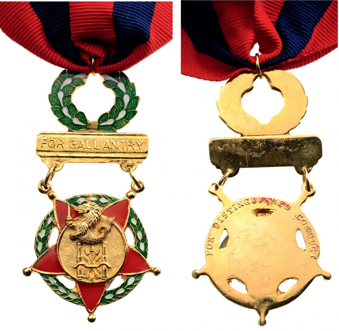 Distinguished Conduct Star, instituted in 1939.
