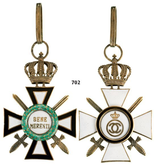 BENE MERENTI ORDER OF THE ROYAL HOUSE, 1937