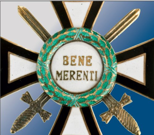 BENE MERENTI ORDER OF THE ROYAL HOUSE, 1937 - 2
