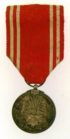 RED CROSS MEDAL, WW II