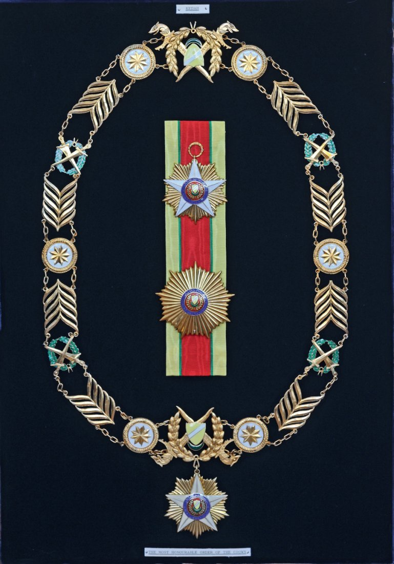 551. MOST EXALTED ORDER OF THE CROWN OF KEDAH