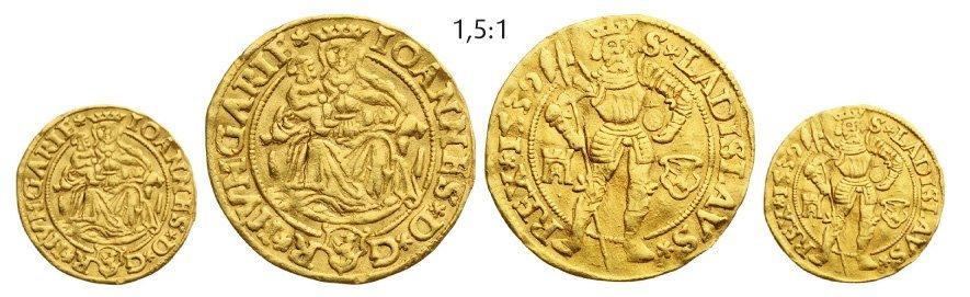 Ducat 1539, Klausenburg (Cluj), Gold, 3,52 g.