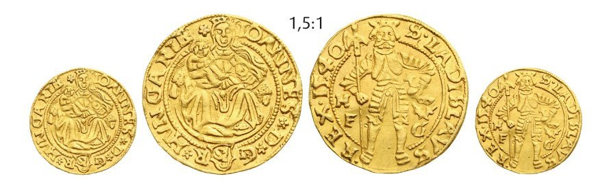 Ducat 1540, Hermannstadt (Sibiu), Gold, 3,20 g